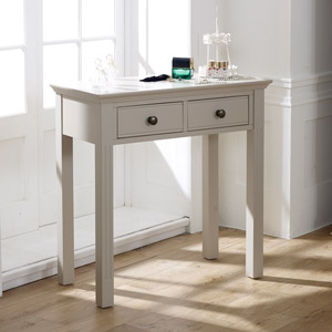 Taupe-Grey Console / Dressing Table - Davenport Taupe-Grey Range
