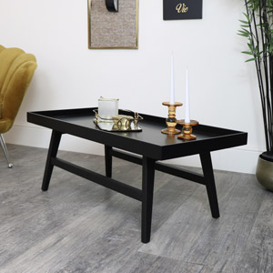 Rectangle Black Coffee Table