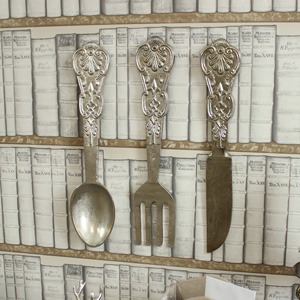 Over Sized Hanging Cutlery Set